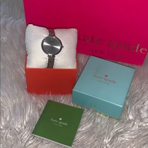 Kate spade holland 2 tones  stainless steel watch